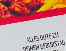 Printdesign »Gutscheine«