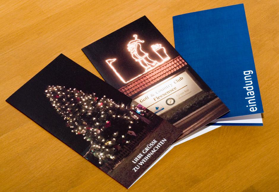 Mehrere Einladungskarten von GERBODE-grafikdesign
