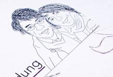 Printdesign »Hochzeitskarte«