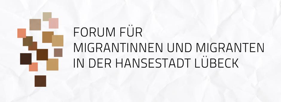 Logo vom Forum für Migrantinnen und Migranten in Lübeck