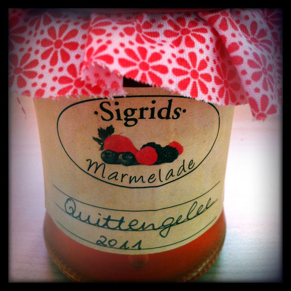 Selbstklebendes Etikett für Marmeladengläser