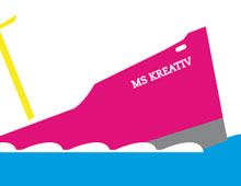 Printdesign »Plakat – Kreativwirtschaft«