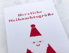 Printdesign »Weihnachtskarte«