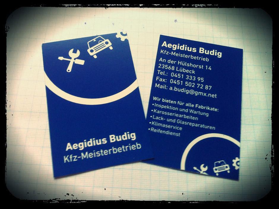 Gerbode Grafikdesign De Printdesign Visitenkarte Kfz