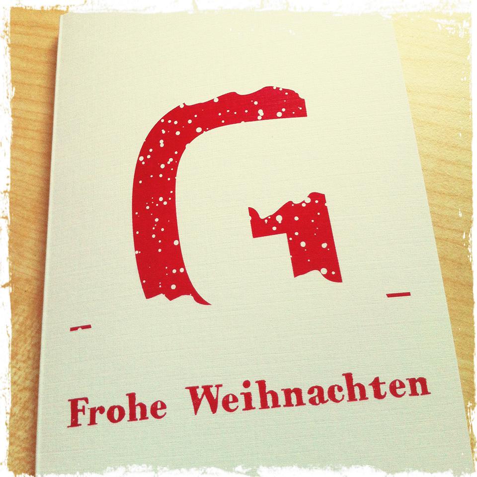 Weihnachtskarte von GERBODE-grafikdesign 2013
