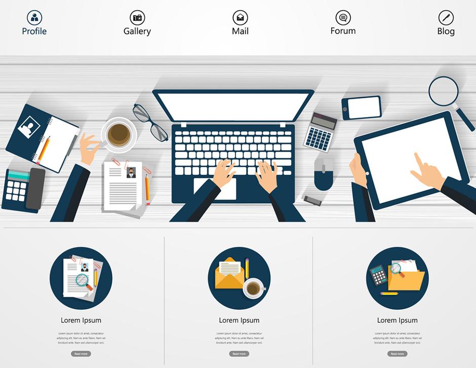 Professionelle Webseiten mit WordPress erstellt