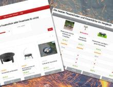 Webdesign »Die-ideale-Feuerschale.de«