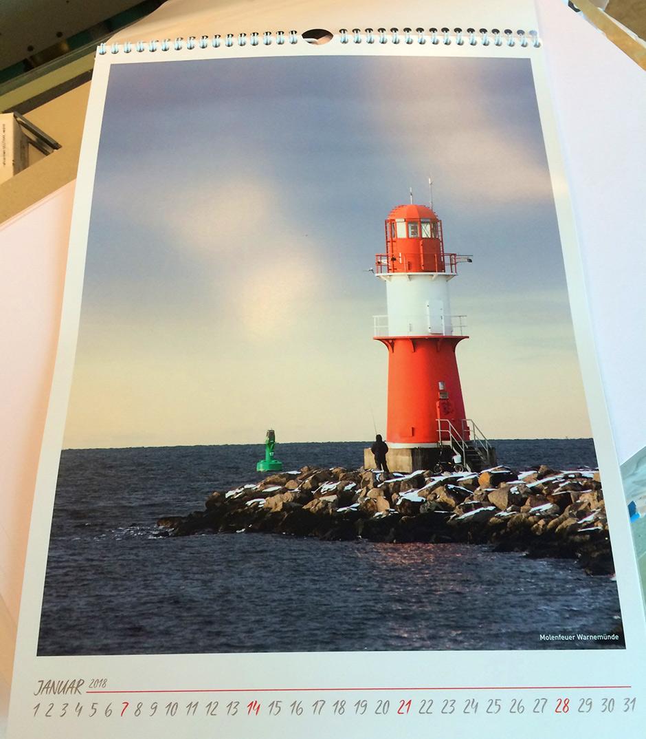 Rostock und Warnemünde Kalender 2018 2