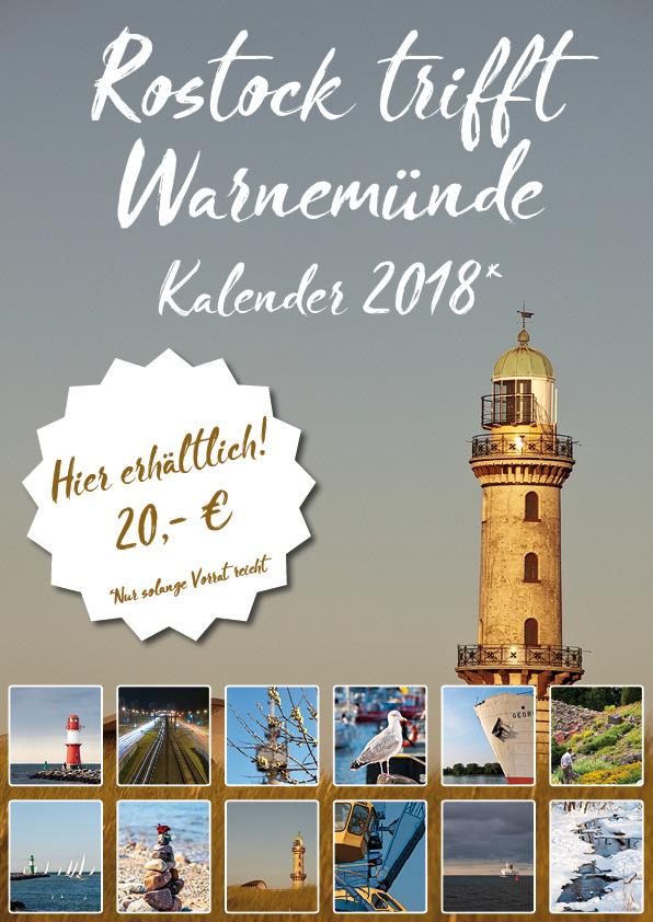 Rostock und Warnemünde Kalender 2018