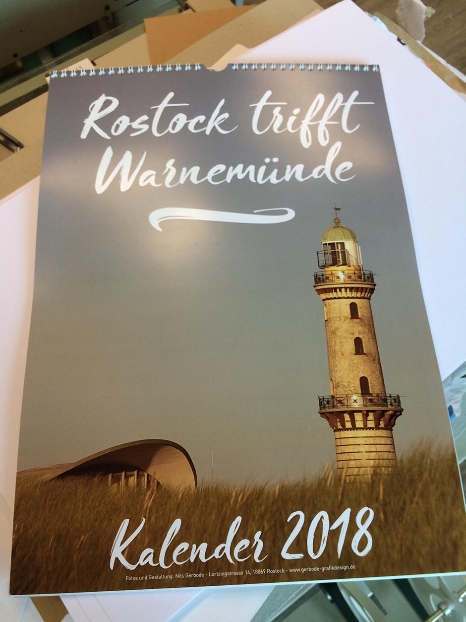 Kalender Rostock und Warnemünde 2018