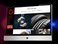 Webdesign »Reifenservice Schröder«