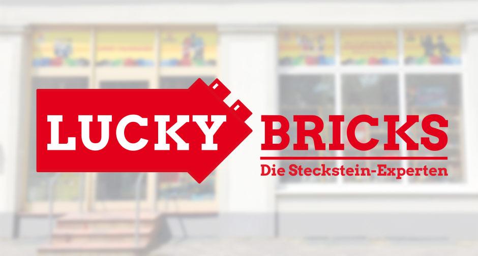Das neue Logo von Lucky Bricks in Rostock