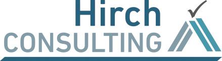 Logo Hirch-Consult - GERBODE-grafiksdesign Rostock