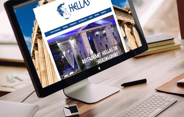 Webdesign für das Restaurant Hellas in Heringsdorf