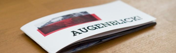 GERBODE-grafikdesign »Augenblick-Magazin«
