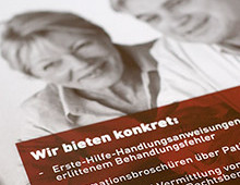Printdesign » Behandlungsfehlerhilfe«