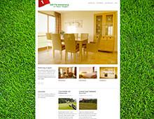 Webdesign »Golf-Ferienwohnung«
